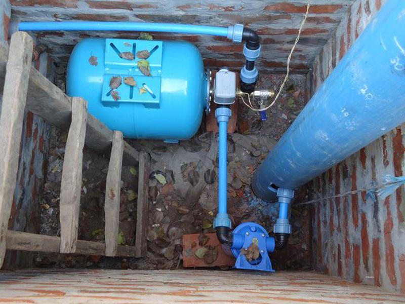 Водопровод своими руками дома